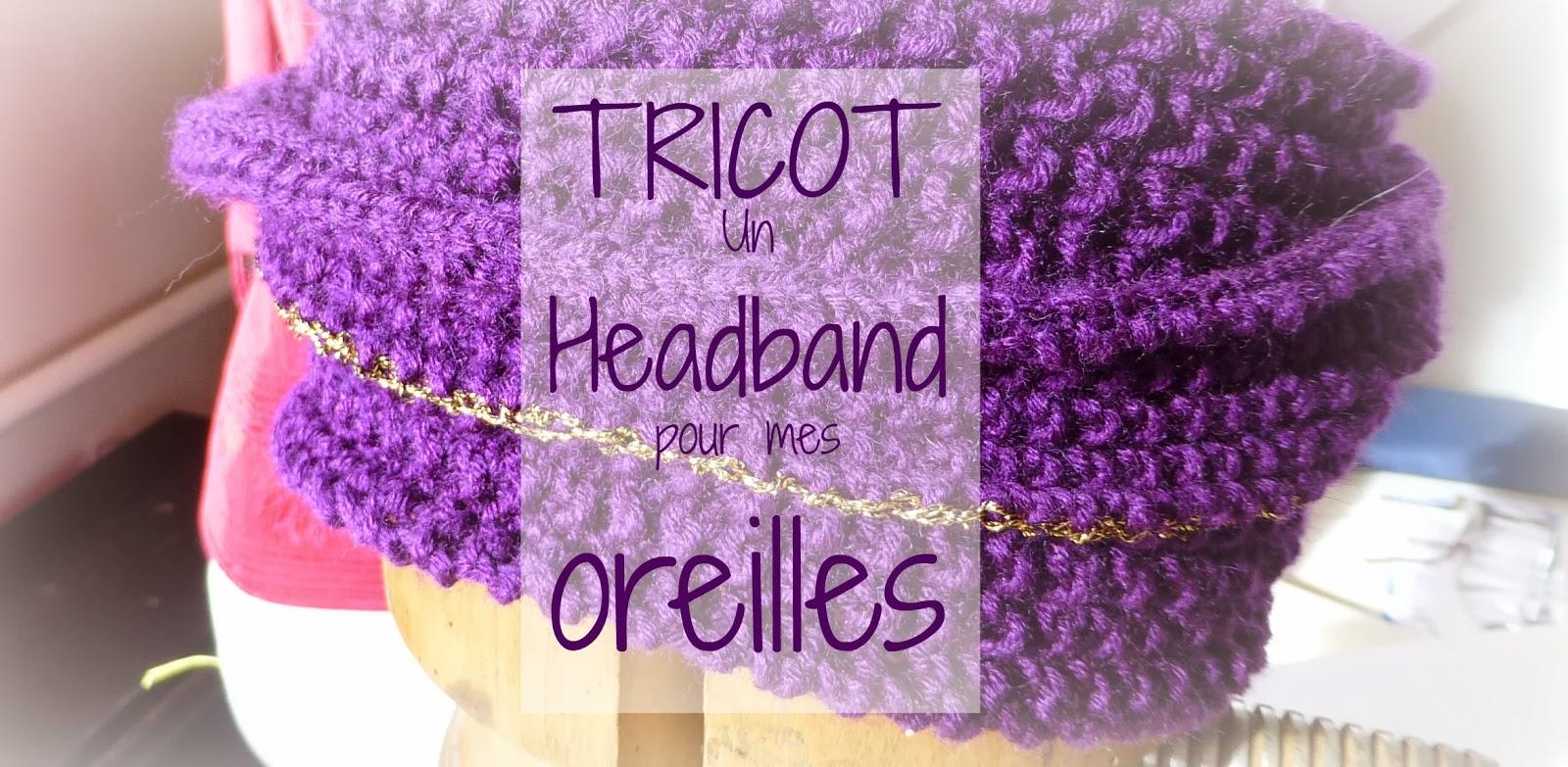 [Tricot] Un Headband pour mes Oreilles