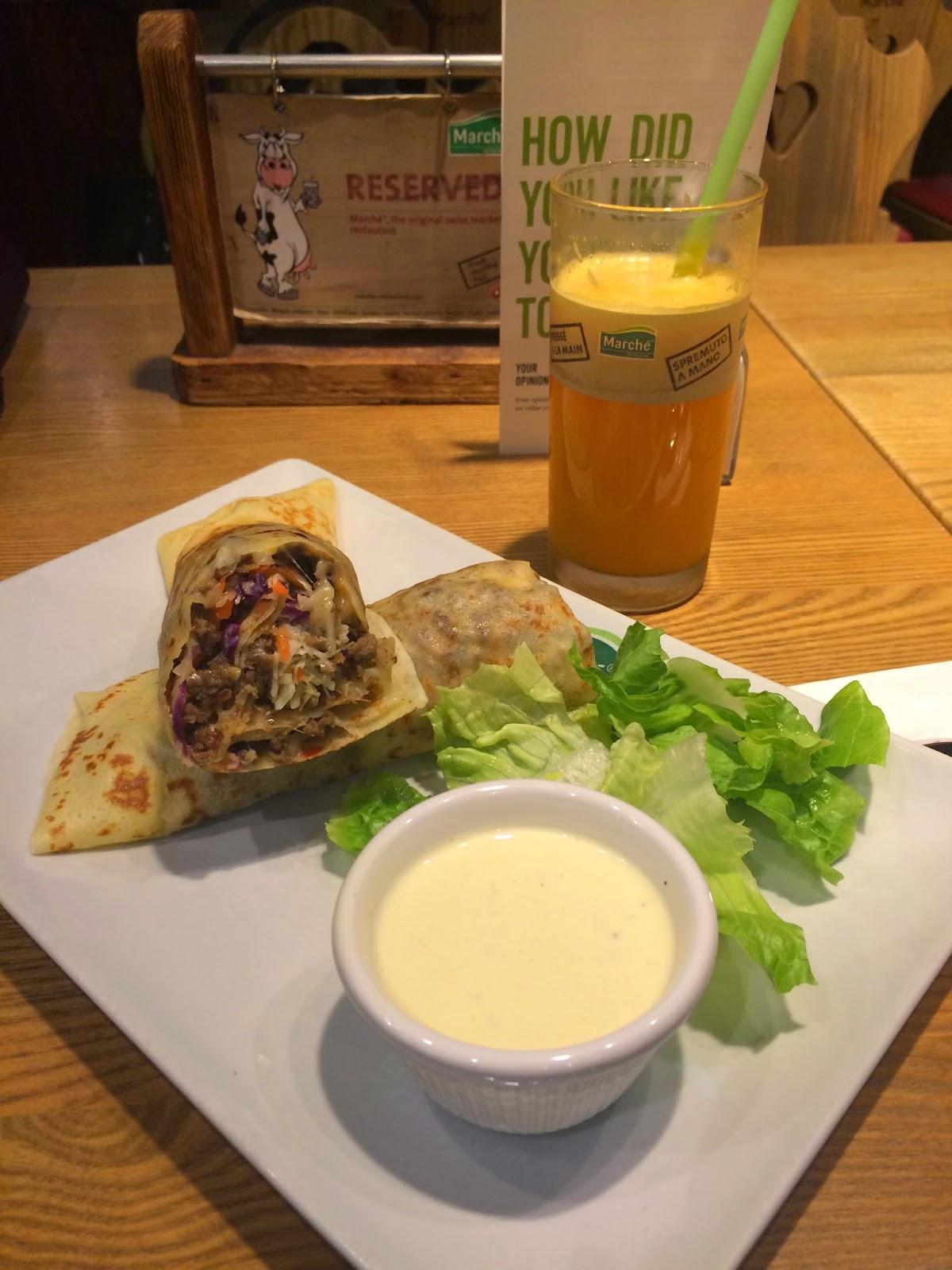 DADAFAB: Food: Marche Singapore