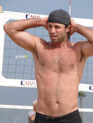 Curtis Jackson Shirtless at the NVL Malibu 2011