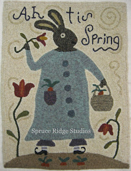 See more of my designs adapted for rug hooking at Spruce Ridge Studios!