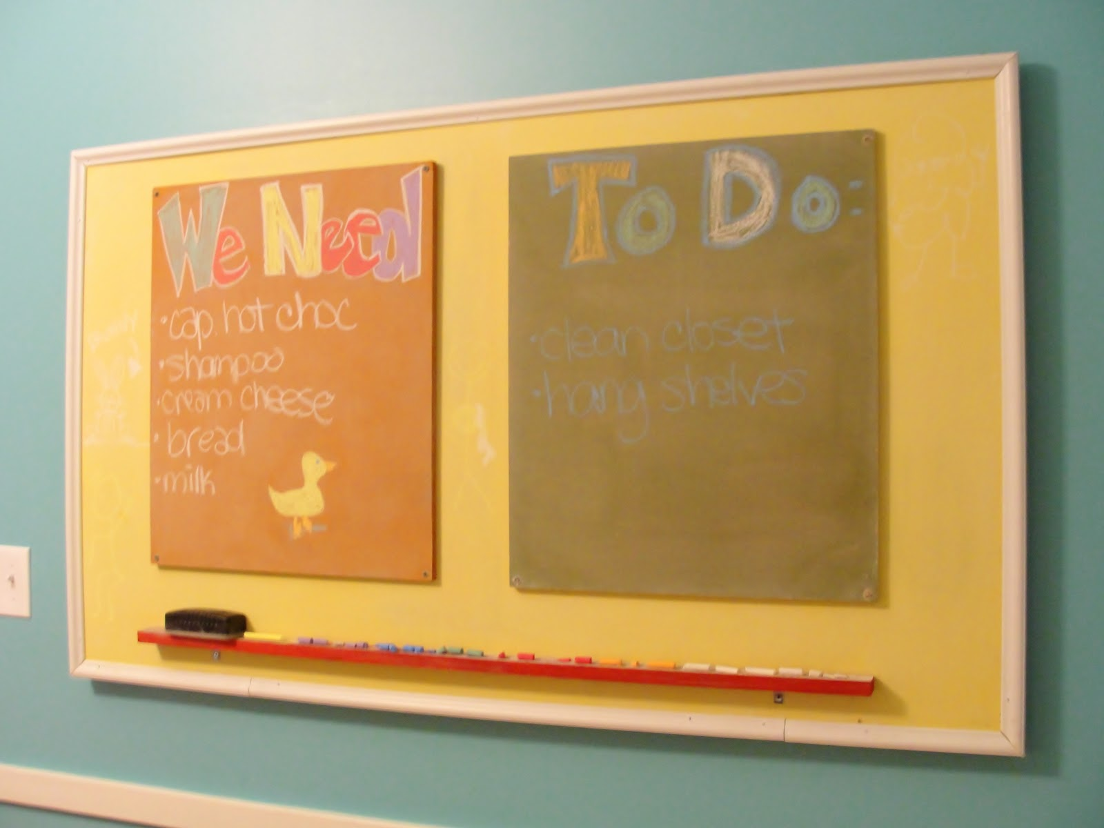 Apartment 528: The (Belated) Weekender: Make Your Own Chalkboard ...