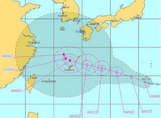 Tropischer Sturm | Taifun HAIKUI: Japan, Korea und China im Visier, Haikui, aktuell, Vorhersage Forecast Prognose, Taifunsaison 2012, Japan, Korea, China, August, 2012,