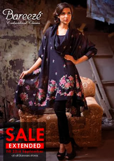Bareeze Winter Dresses 2013