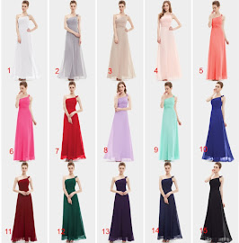 Sparse Lined Flowers One-Shoulder Multi-Color Bridesmaids Maxi Dress