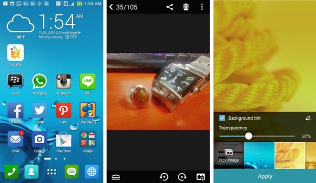 Tampilan Common UI di Zenfone