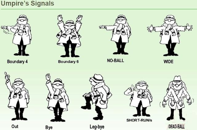 क्रिकेट गेम के नियम और कायदे