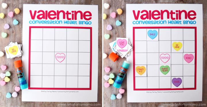 Free Printable Valentine Bingo – Free Valentine Bingo Cards