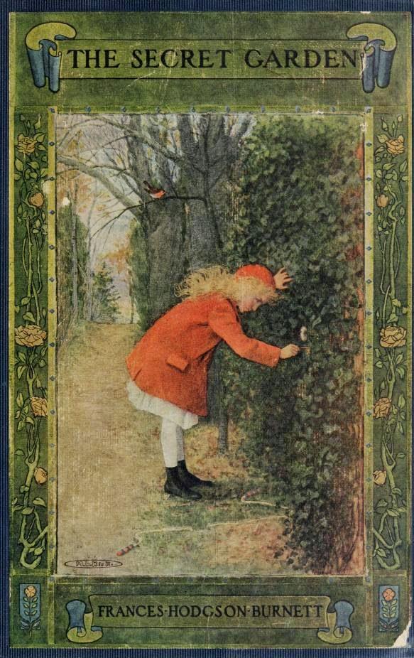 randomly reading randomly retro reading the secret garden by frances hodgson burnett