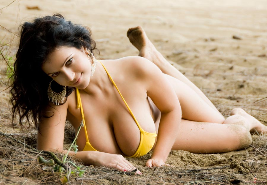 Denise Milani Hard Nipples 12