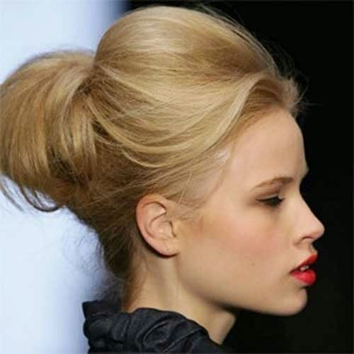 Cute Bun Hairstyles For Short Hair