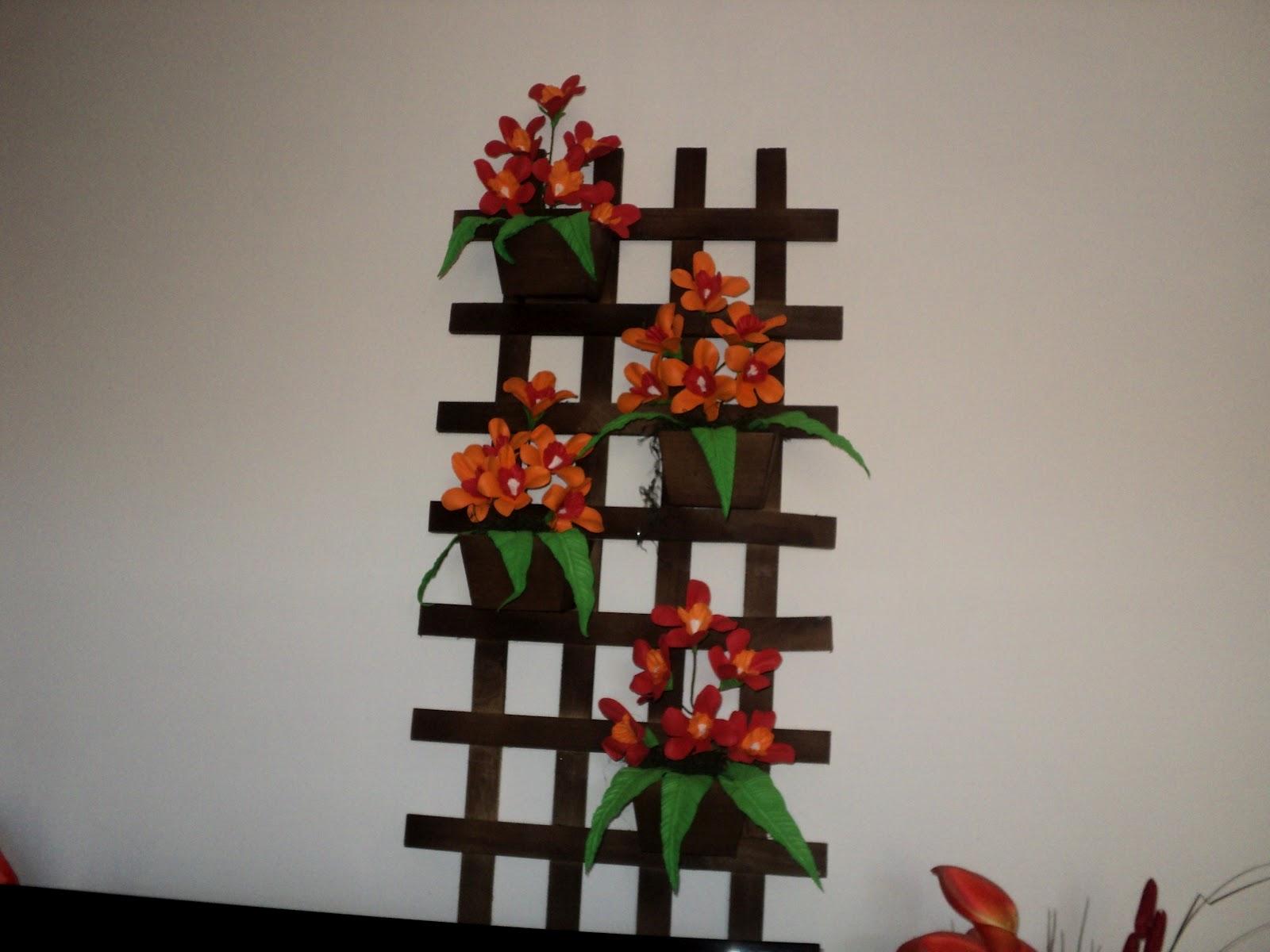 HELP RAMOS ARTES EM EVA: Telas de madeira com flores em EVA #B34716 1600x1200