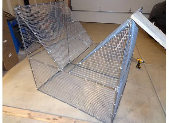 how to build a swedish goshawk trap