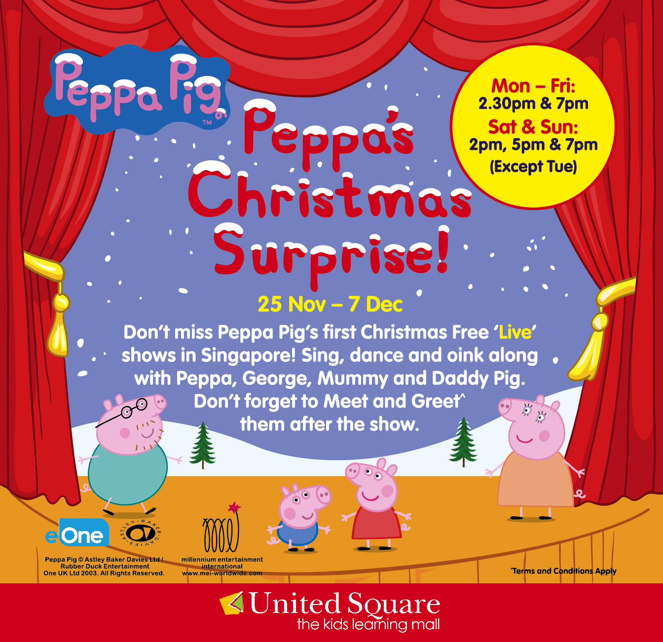 Iammommyflori Invite Peppas Christmas Surprise At United Square