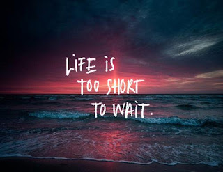 life quotes life is too short to wait