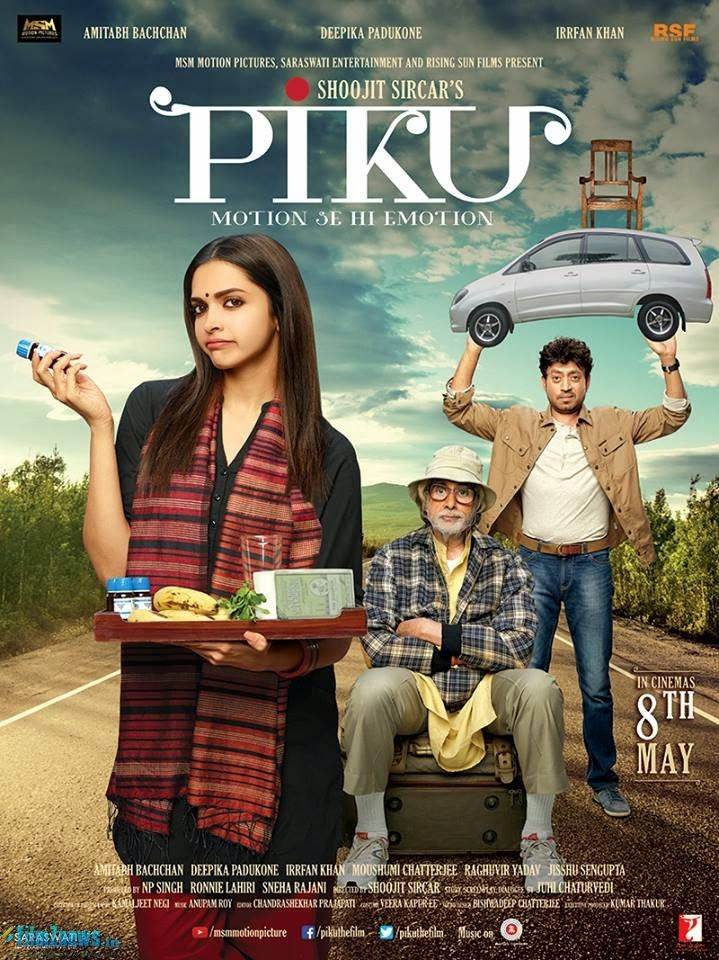 Piku (2015) First Look Poster
