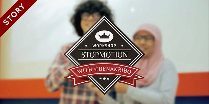 Stopmotion Workshop: Benakribo live in telkom university