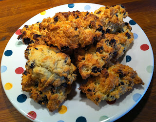 Rock cakes on Emma Bridgwater plate