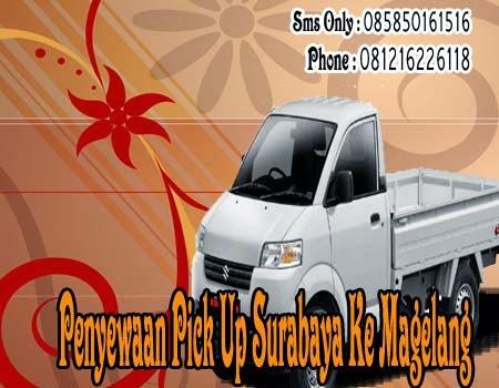 Penyewaan Pick Up Surabaya Ke Magelang