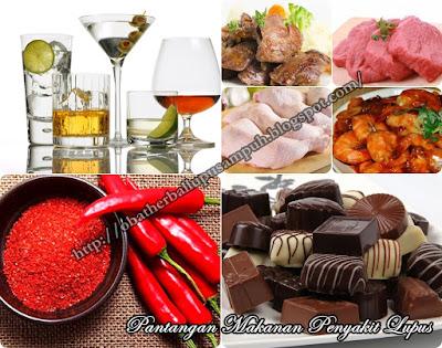 Pantangan Makanan Penyakit Lupus