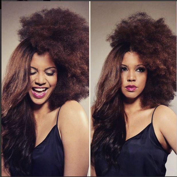 kurlee belle natural hair shrinkage