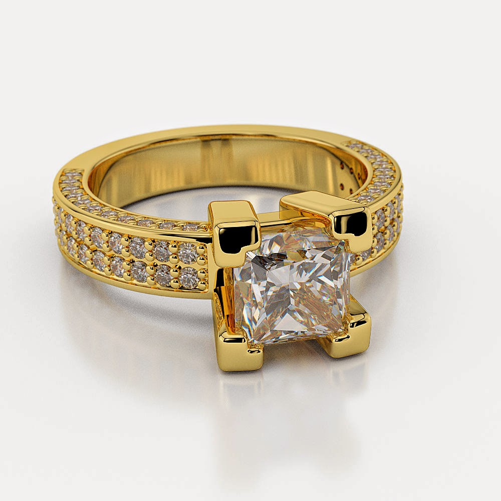 Amazoncom 2 carat engagement ring Clothing Shoes amp Jewelry
