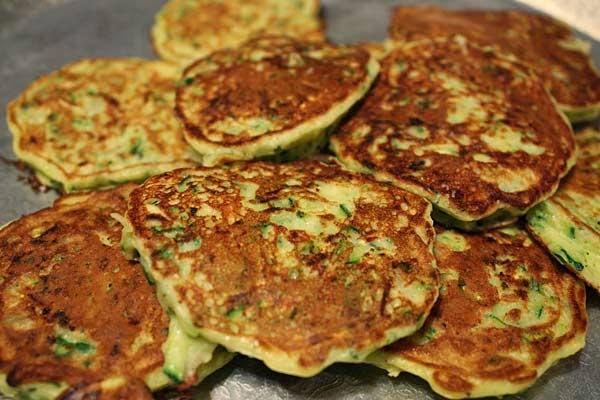 Zucchini Pancakes Recipe — Dishmaps