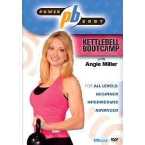 DVD Kettlebell Bootcamp-Angie Miller