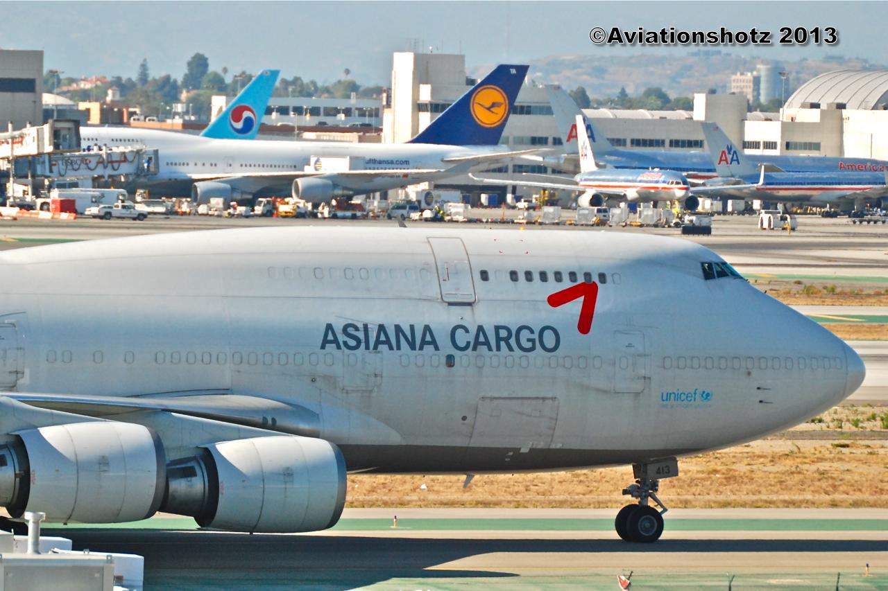 Aviationshotz: Asiana Cargo, B747-400SF, HL7413