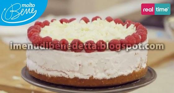 Cheesecake allo Yogurt e Cioccolato Bianco di Benedetta Parodi
