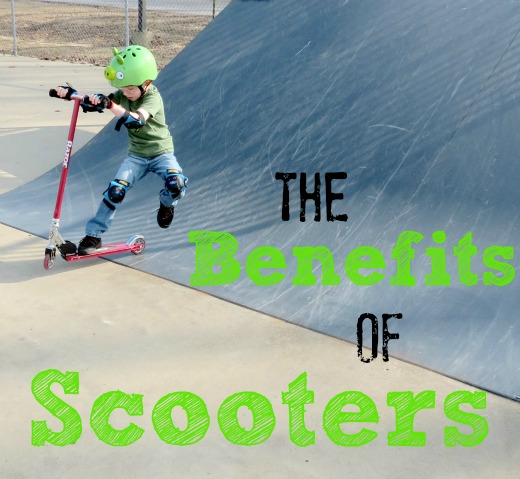 riding scooters, the benefits of scooters