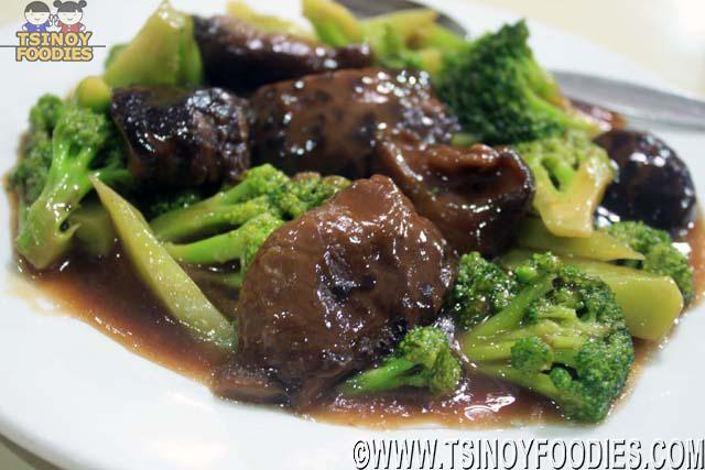 mushroom and broccoli