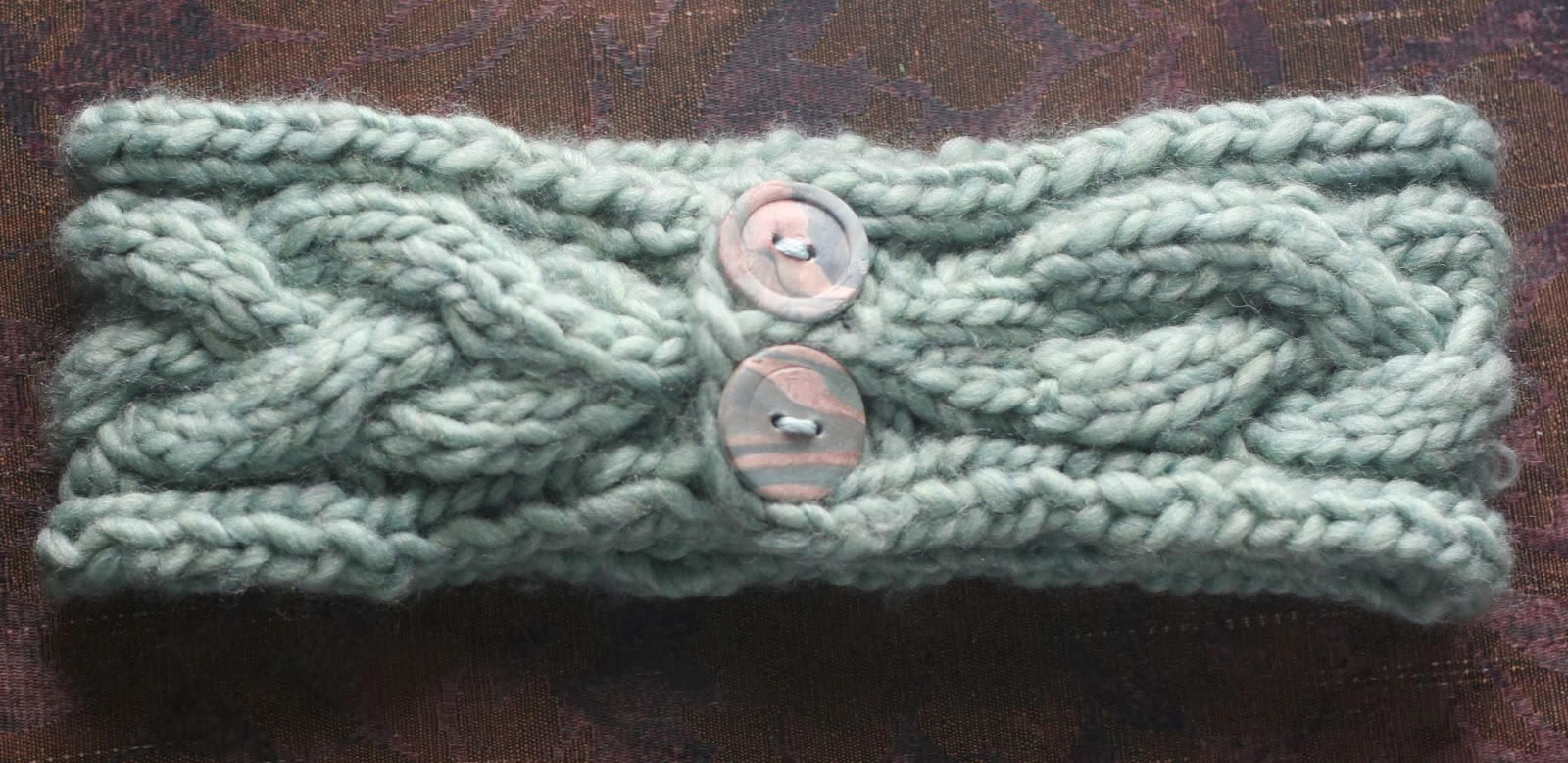 the final cable headband pattern re-do