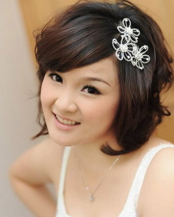 Memorable wedding wedding hairstyles for short hair