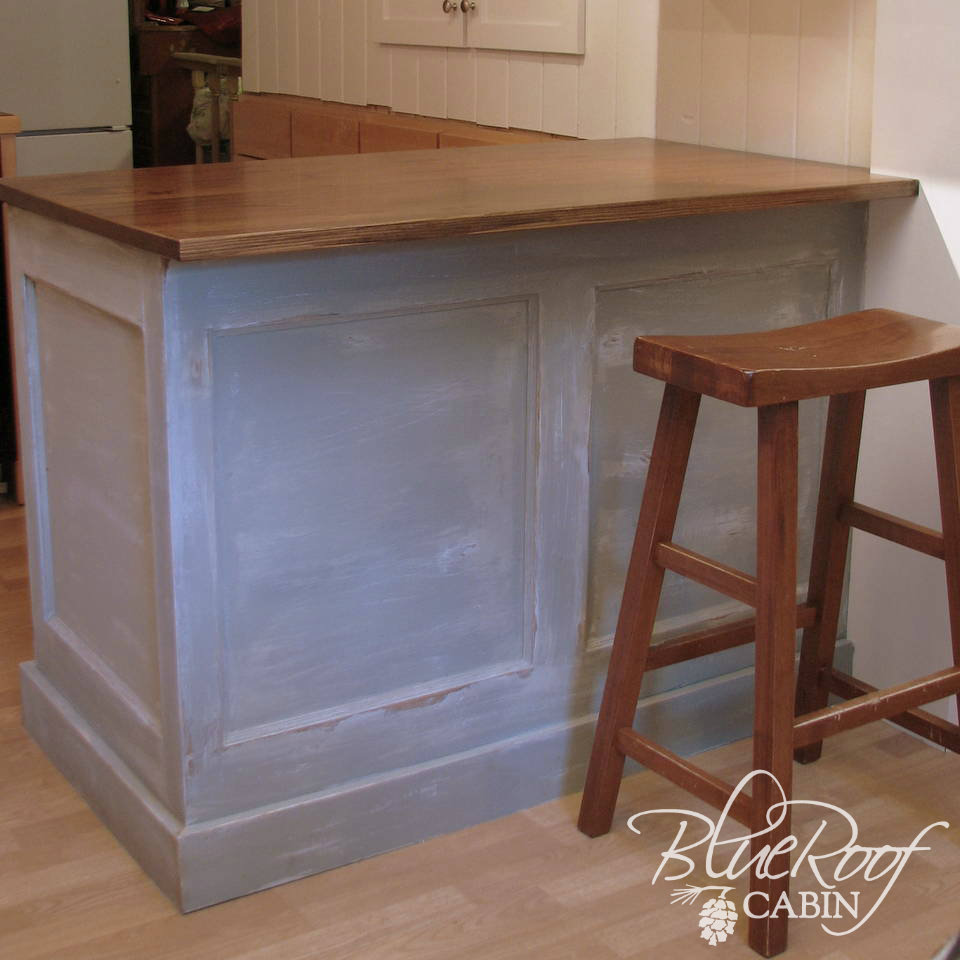 (Click Here To See How I Built A Kitchen Island Out Of A Door.)