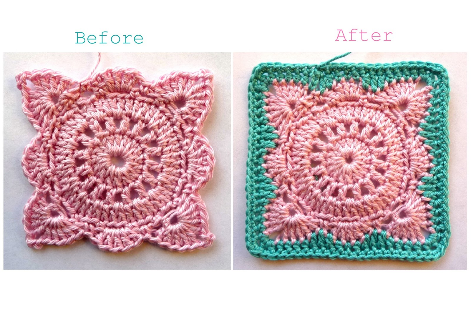 Solid 'Willow' Crochet Block How-To