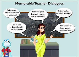 memorable teacher dialogues