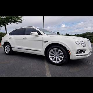 Davido's new Bentley