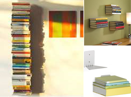 Conceal Bookshelves By Umbra