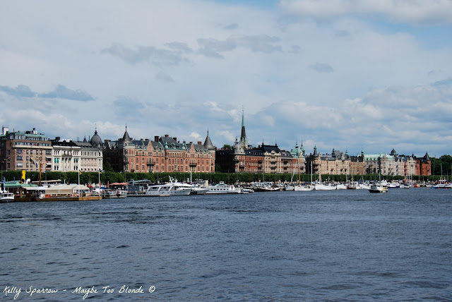Stockholm water front