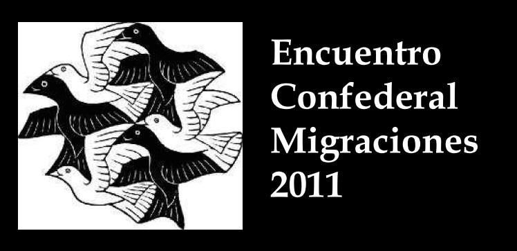 Encuentro Confederal  Migraciones 2011