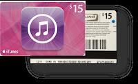 Código iTunes Gift Card 15 dólares