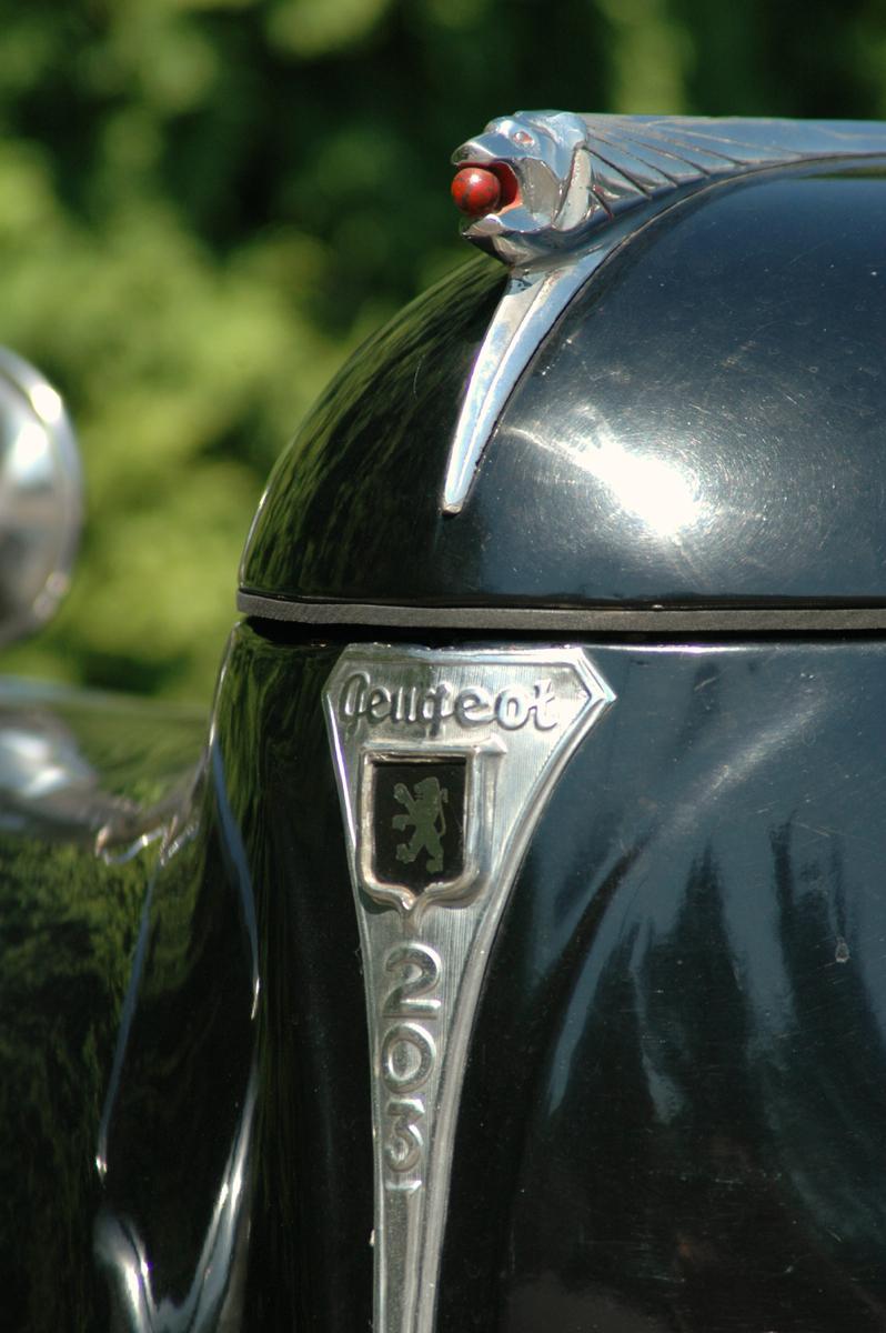 1953 Peugeot 203 badge