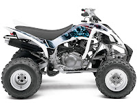 Yamaha pictures 2013 Raptor 350 ATV 4