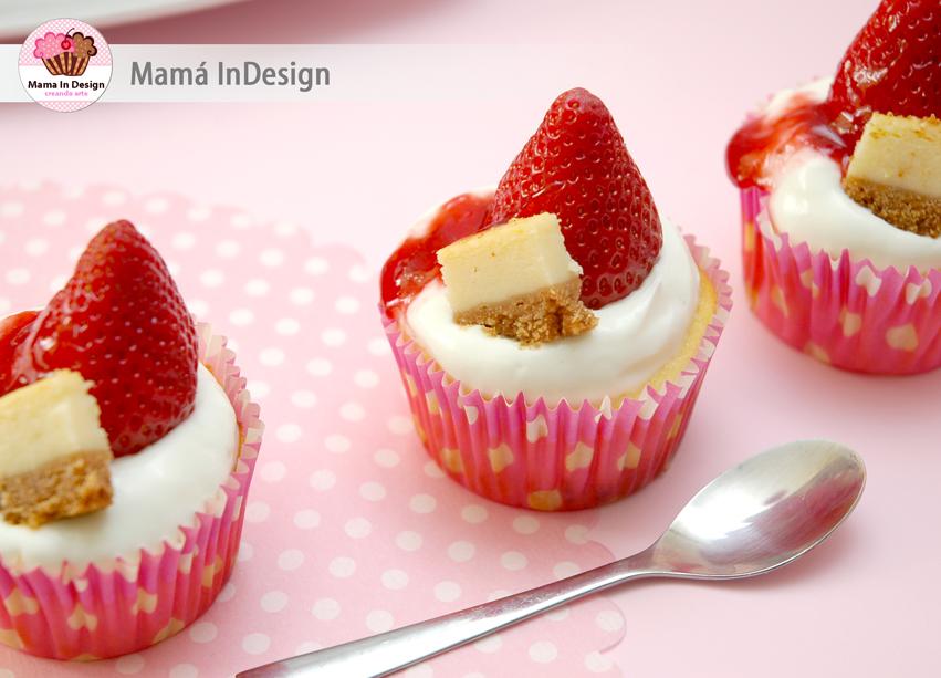 Chesse cake de Petit Suisse en cupcake