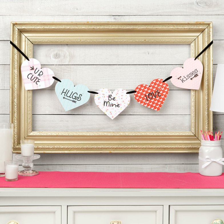 CTMH Be Mine Wooden Banner Special
