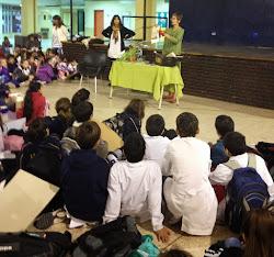 Día del libro en la Escuela 221