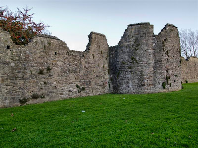 Muralla medieval de Chepstow (Gales)