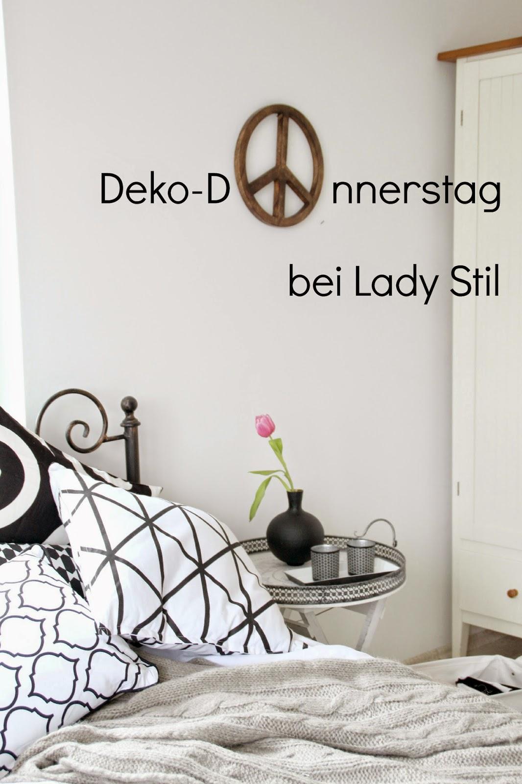 Deko-Donnerstag bei Lady Stil: