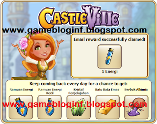 CastleVille+Daily+Reward Update 09 November 2012