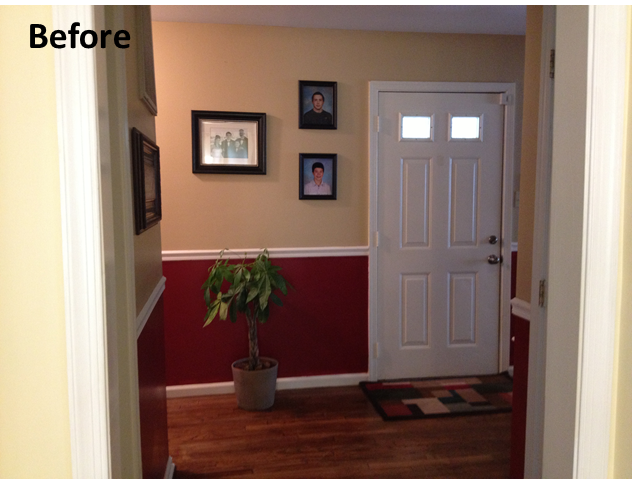 was before i painted the door black i love the interior door black. Black Bedroom Furniture Sets. Home Design Ideas